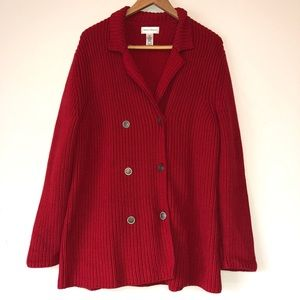 Red sweater XL